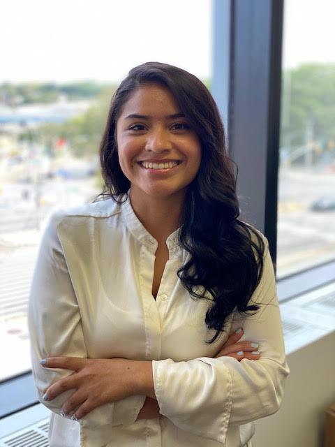 Recepcionist Anabel Rodriguez
